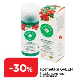 Kosmetikai GREEN FEEL