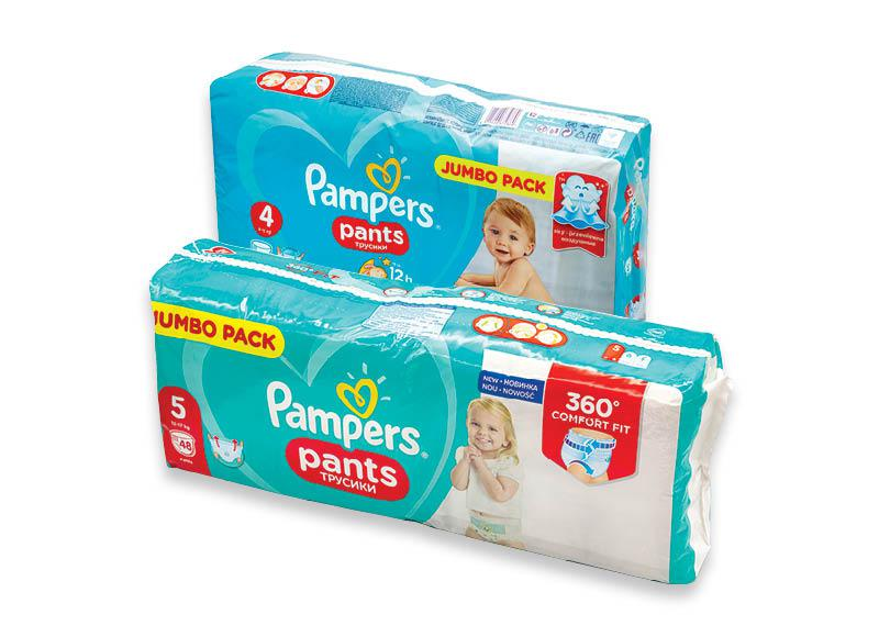 Sauskelnėms PAMPERS PANTS JUMBO PACK