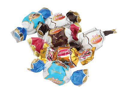 Saldainiai CRISPO, 1 kg
